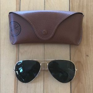 Polarized Ray Ban Aviator Frames